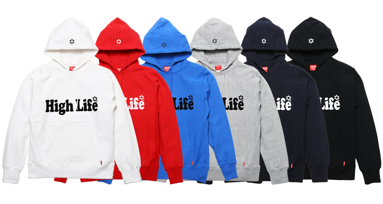 new arrival high life logo series high life official web site